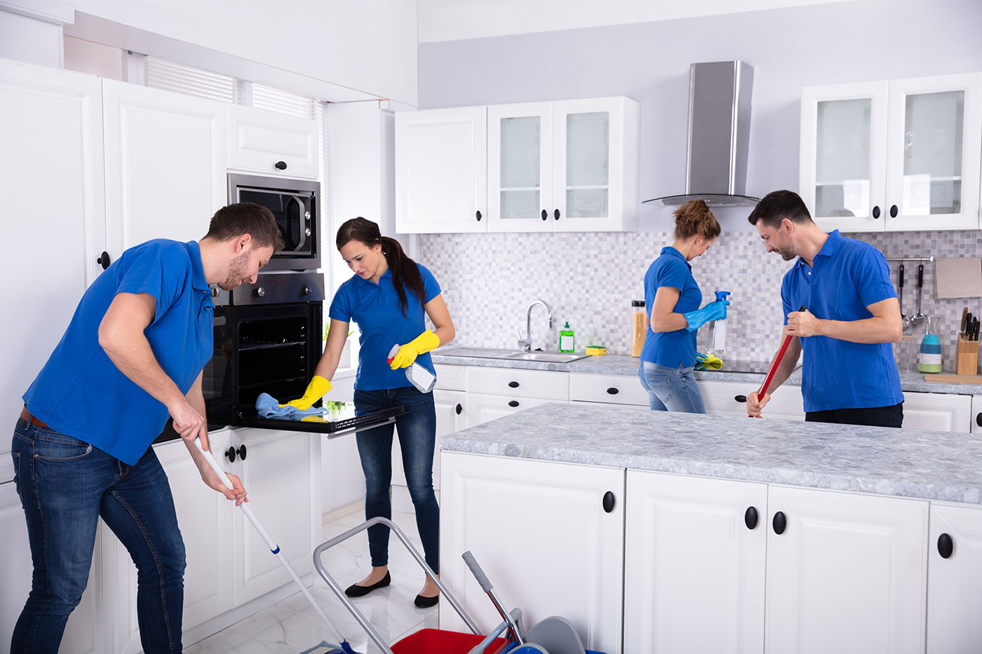 A professional cleaning company will make your life much easier.