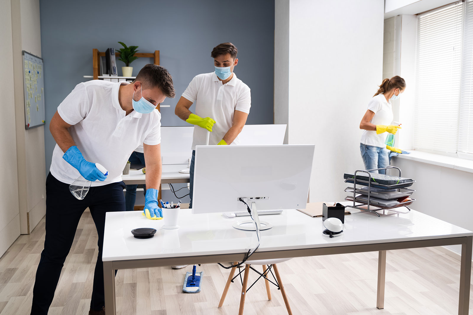 Disinfecting and cleaning offices and facilities during the COVID-19 crisis